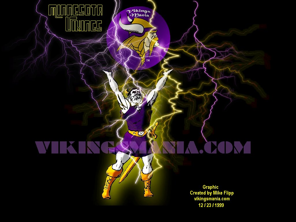 Flipp's Ultimate Minnesota Vikings Wallpaper